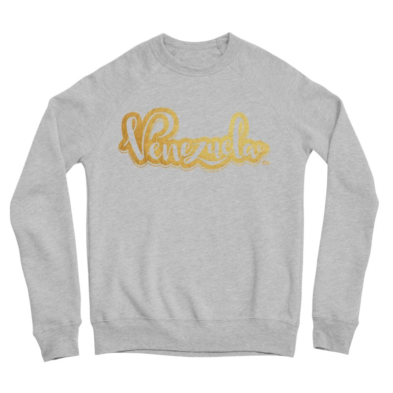 Typo Venezuela - ¡somos de oro! Men's Sponge Fleece Sweatshirt by Andrea Garrido V - Shop