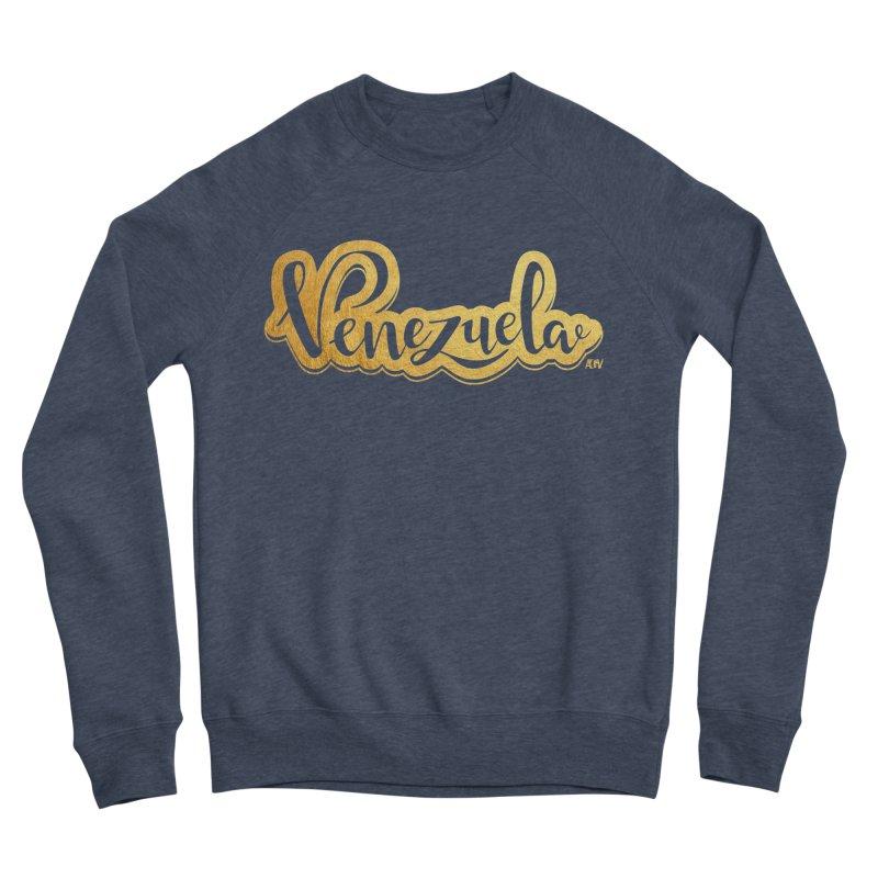 Typo Venezuela - ¡somos de oro! Men's Sweatshirt by Andrea Garrido V - Shop