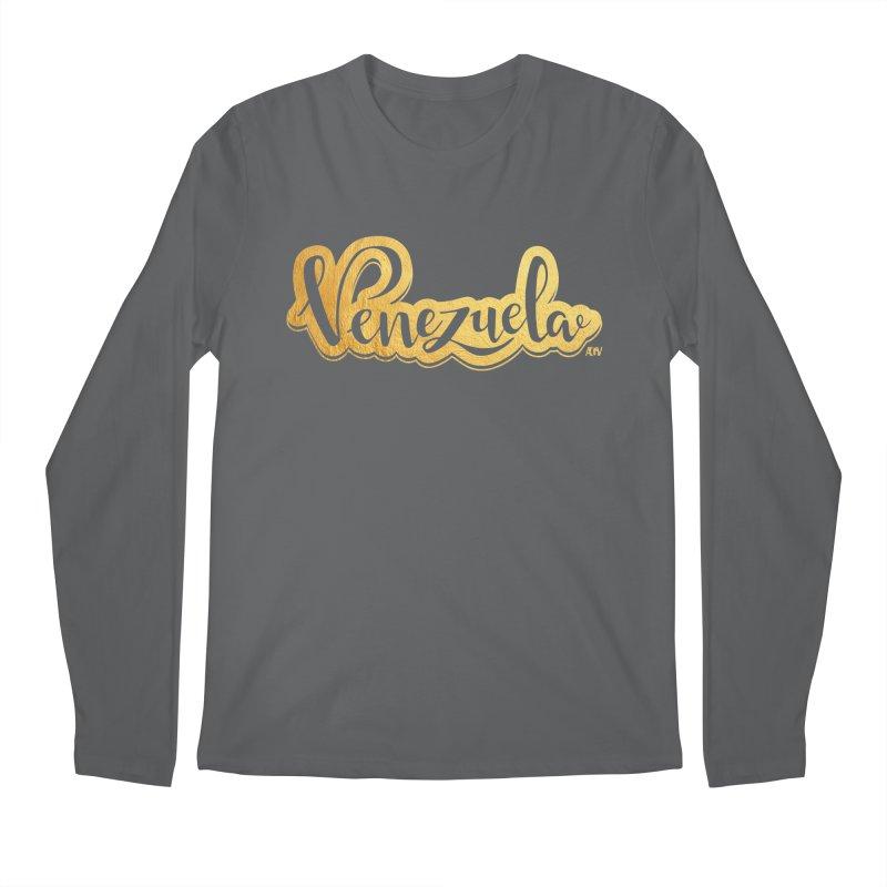 Typo Venezuela - ¡somos de oro! Men's Longsleeve T-Shirt by Andrea Garrido V - Shop