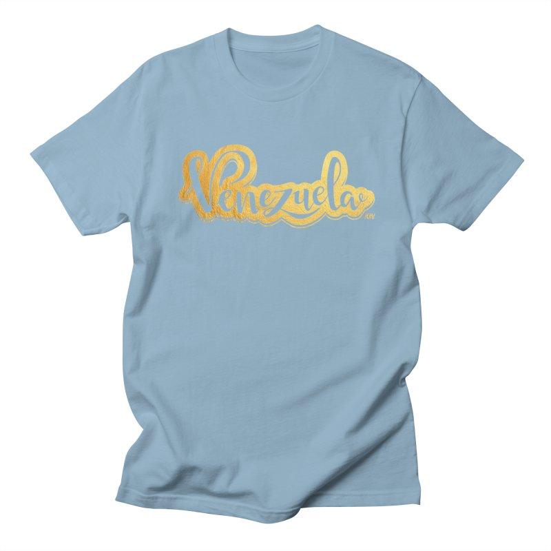 Typo Venezuela - ¡somos de oro! Women's Regular Unisex T-Shirt by Andrea Garrido V - Shop