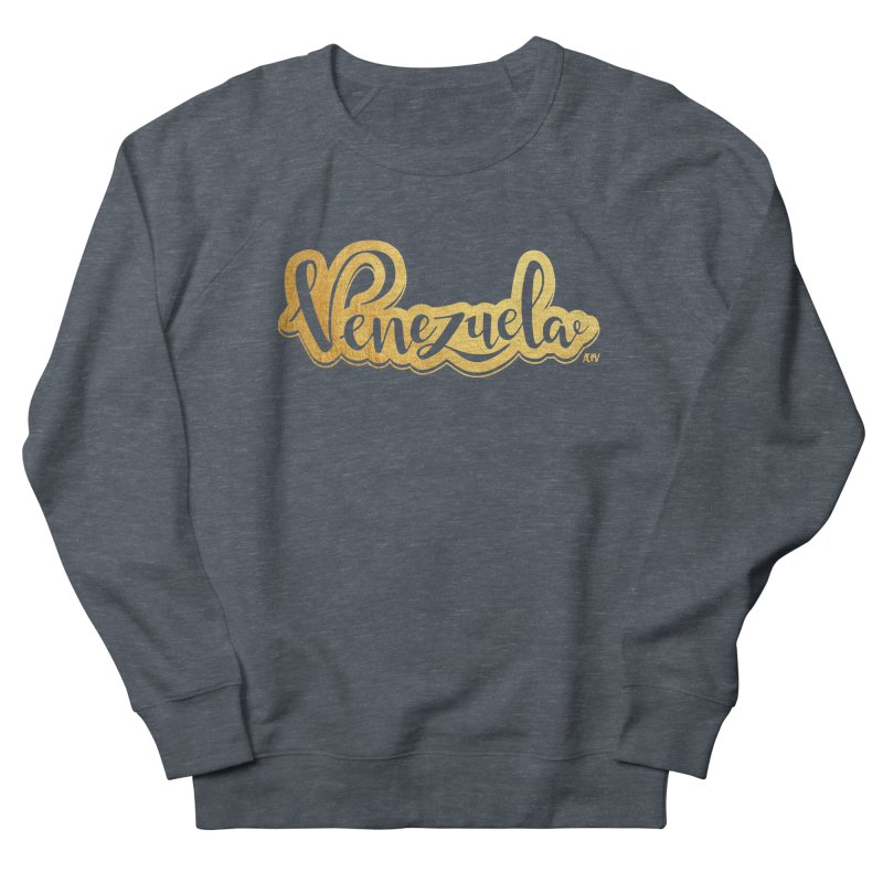Typo Venezuela - ¡somos de oro! Women's French Terry Sweatshirt by Andrea Garrido V - Shop
