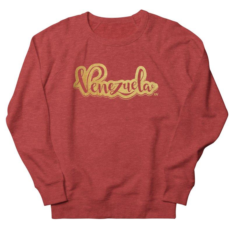 Typo Venezuela - ¡somos de oro! Women's French Terry Sweatshirt by Andrea Garrido V - Shop