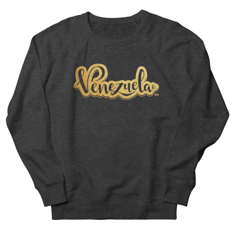 Typo Venezuela - ¡somos de oro! Men's French Terry Sweatshirt by Andrea Garrido V - Shop
