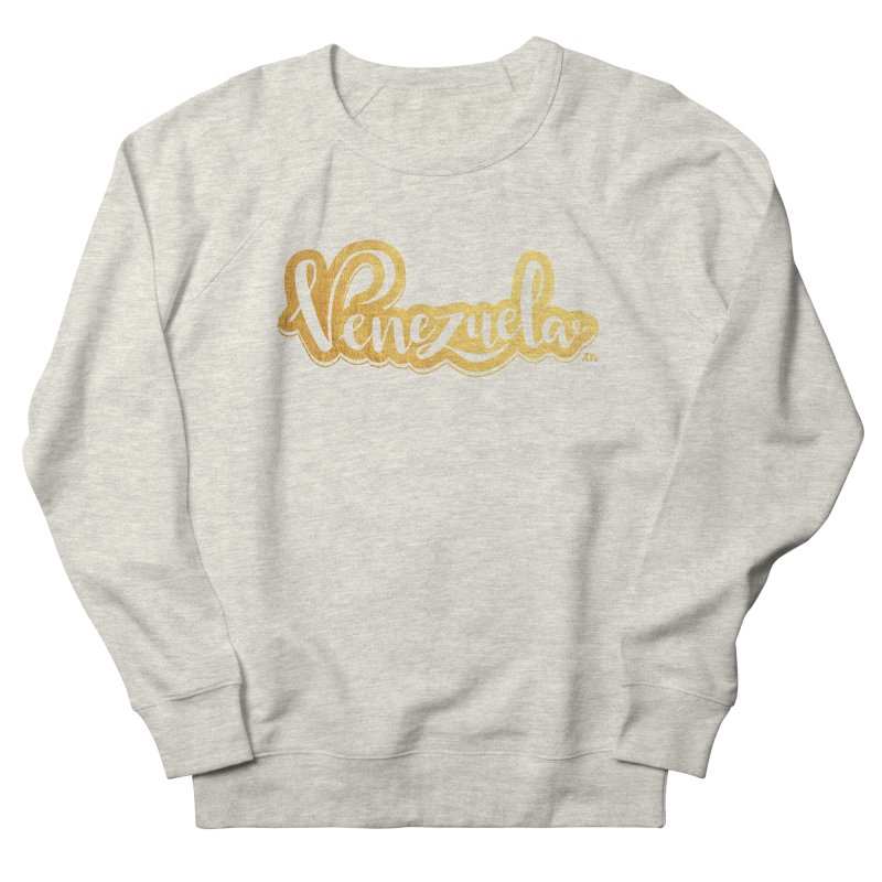 Typo Venezuela - ¡somos de oro! Men's French Terry Sweatshirt by Andrea Garrido V - Shop