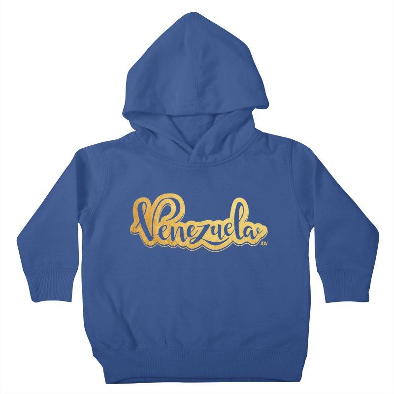 Typo Venezuela - ¡somos de oro! Kids Toddler Pullover Hoody by Andrea Garrido V - Shop