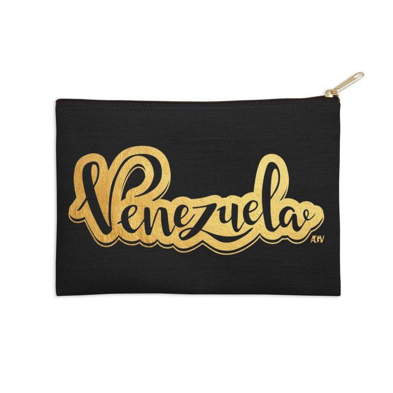 Typo Venezuela - ¡somos de oro! Accessories Zip Pouch by Andrea Garrido V - Shop