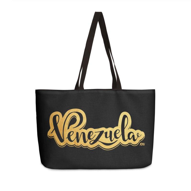 Typo Venezuela - ¡somos de oro! Accessories Weekender Bag Bag by Andrea Garrido V - Shop