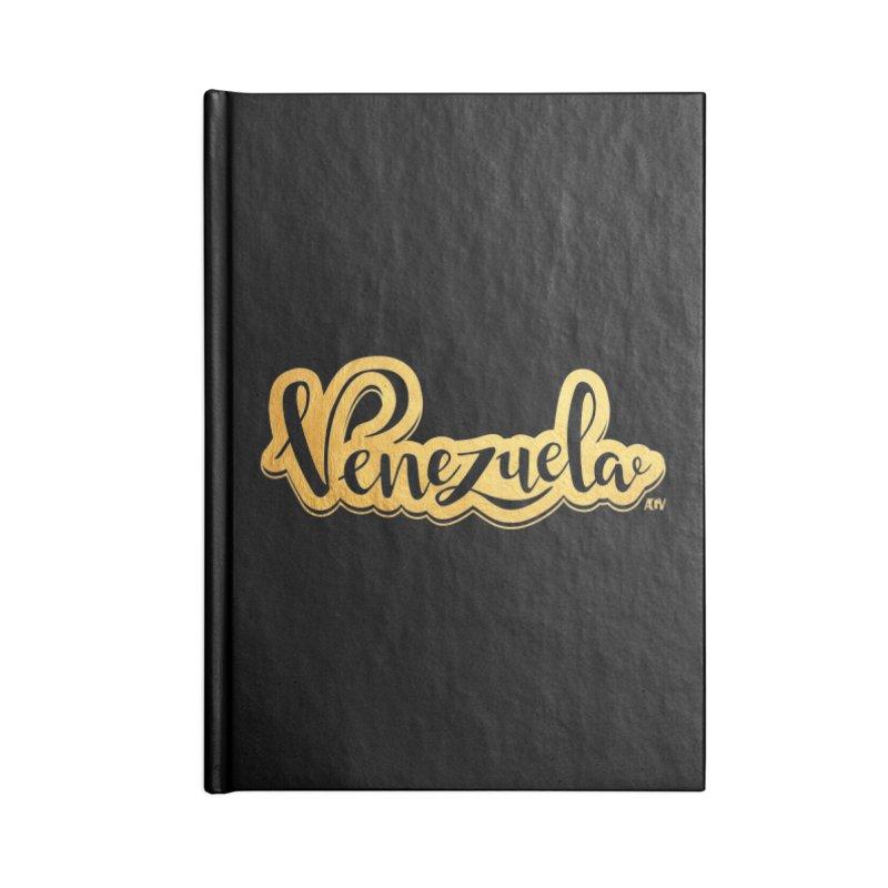 Typo Venezuela - ¡somos de oro! Accessories Lined Journal Notebook by Andrea Garrido V - Shop