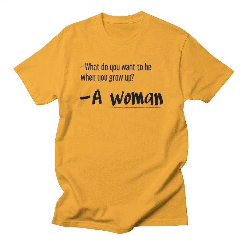 Best choice - Feminist Men's T-Shirt by Andrea Garrido V - Shop