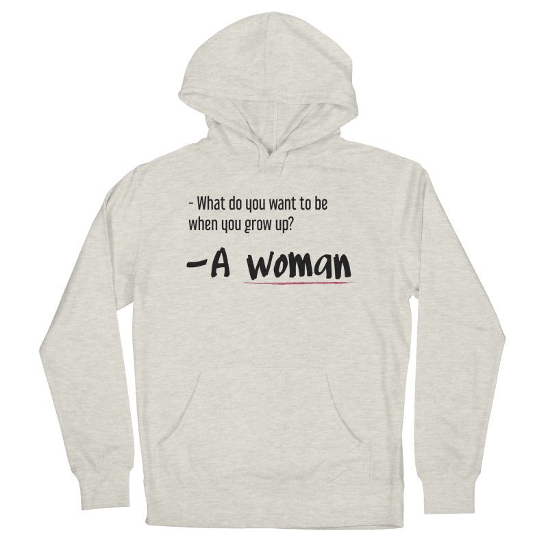 Best choice - Feminist Women's French Terry Pullover Hoody by Andrea Garrido V - Shop