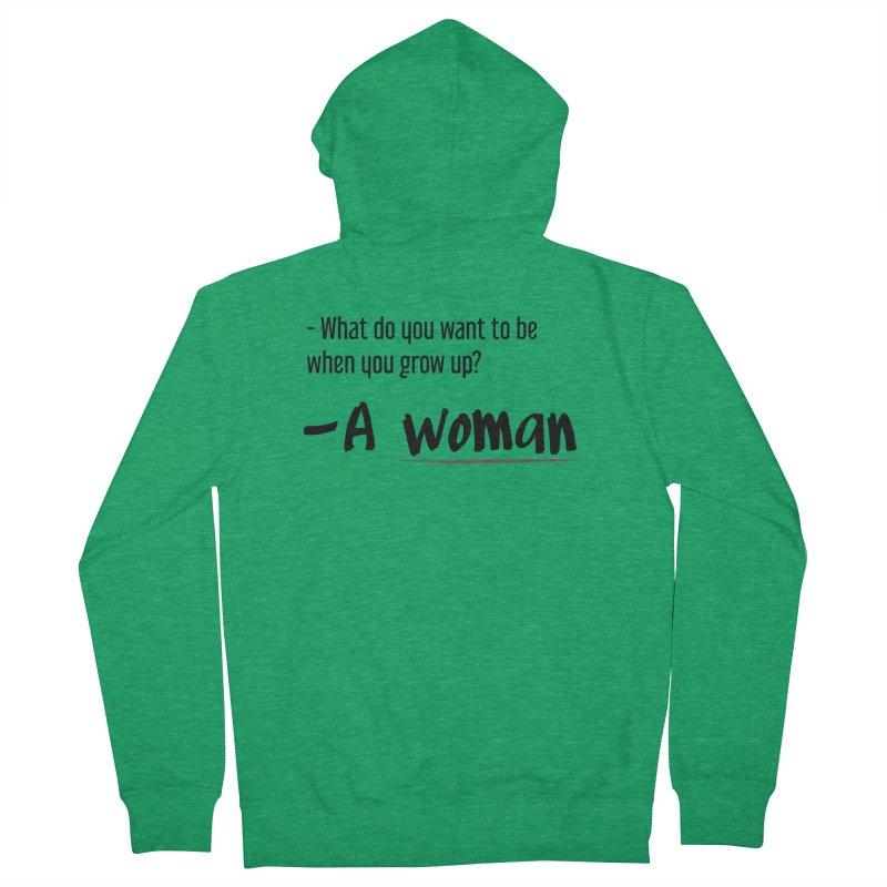 Best choice - Feminist Men's Zip-Up Hoody by Andrea Garrido V - Shop