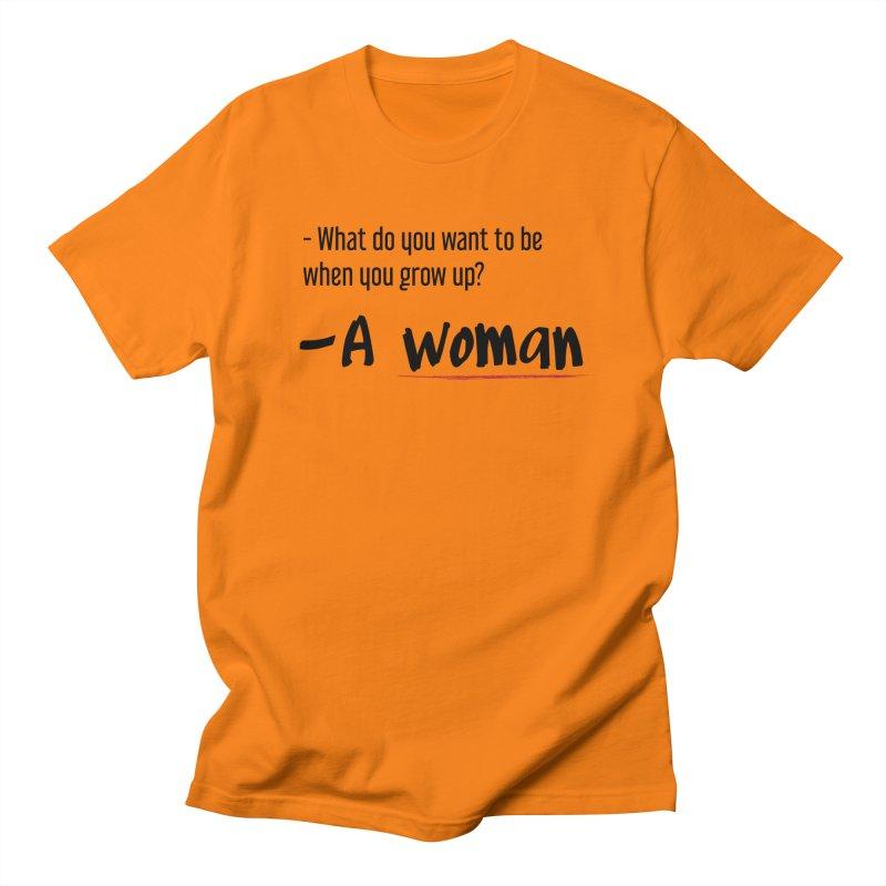 Best choice - Feminist Men's Regular T-Shirt by Andrea Garrido V - Shop