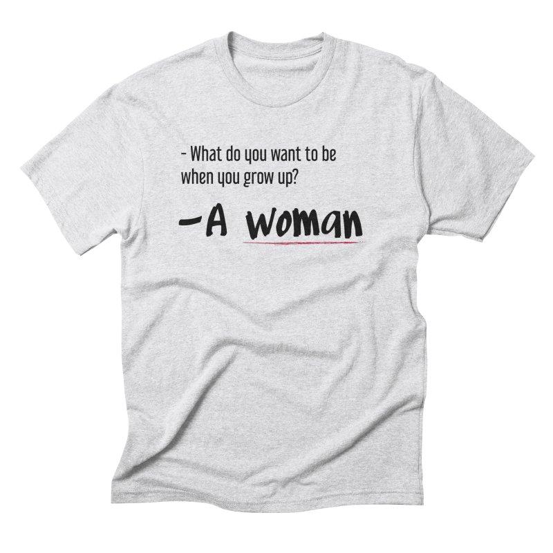 Best choice - Feminist Men's Triblend T-Shirt by Andrea Garrido V - Shop