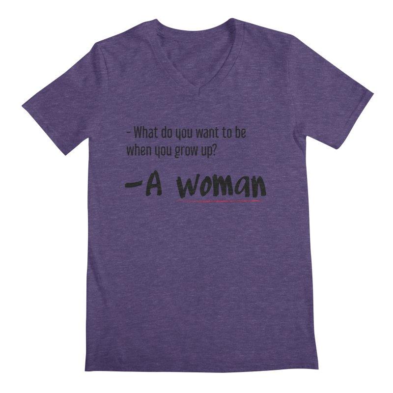 Best choice - Feminist Men's Regular V-Neck by Andrea Garrido V - Shop