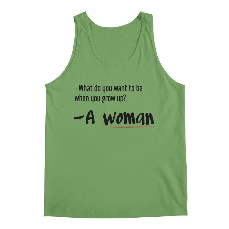 Best choice - Feminist Men's Tank by Andrea Garrido V - Shop
