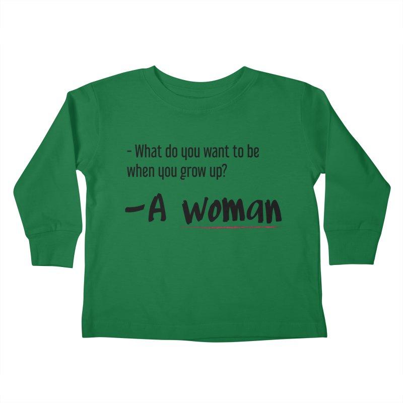 Best choice - Feminist Kids Toddler Longsleeve T-Shirt by Andrea Garrido V - Shop