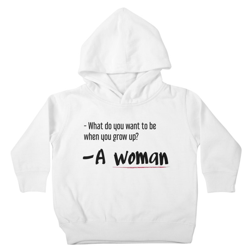 Best choice - Feminist Kids Toddler Pullover Hoody by Andrea Garrido V - Shop
