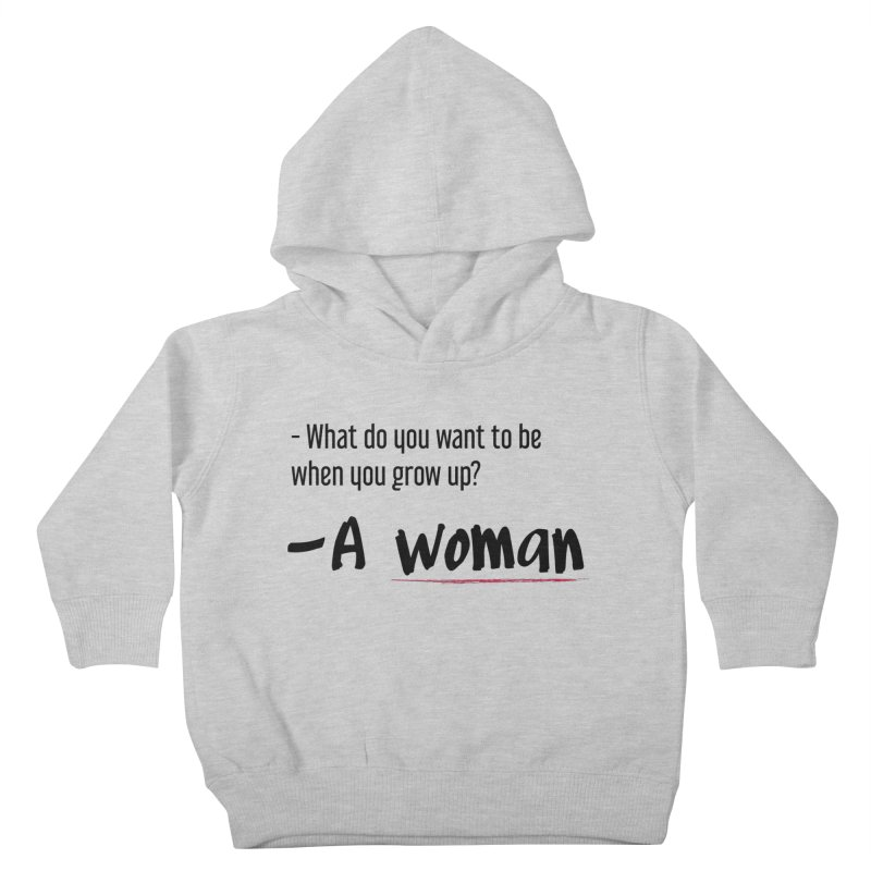 Best choice - Feminist Kids Toddler Pullover Hoody by Andrea Garrido V - Shop