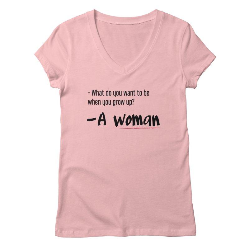 Best choice - Feminist Women's Regular V-Neck by Andrea Garrido V - Shop