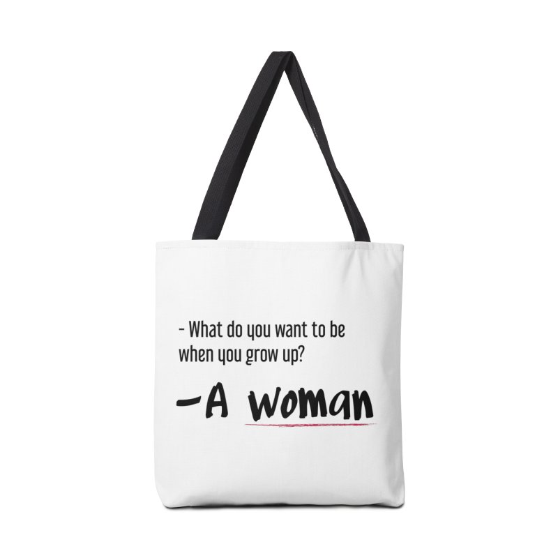 Best choice - Feminist Accessories Tote Bag Bag by Andrea Garrido V - Shop
