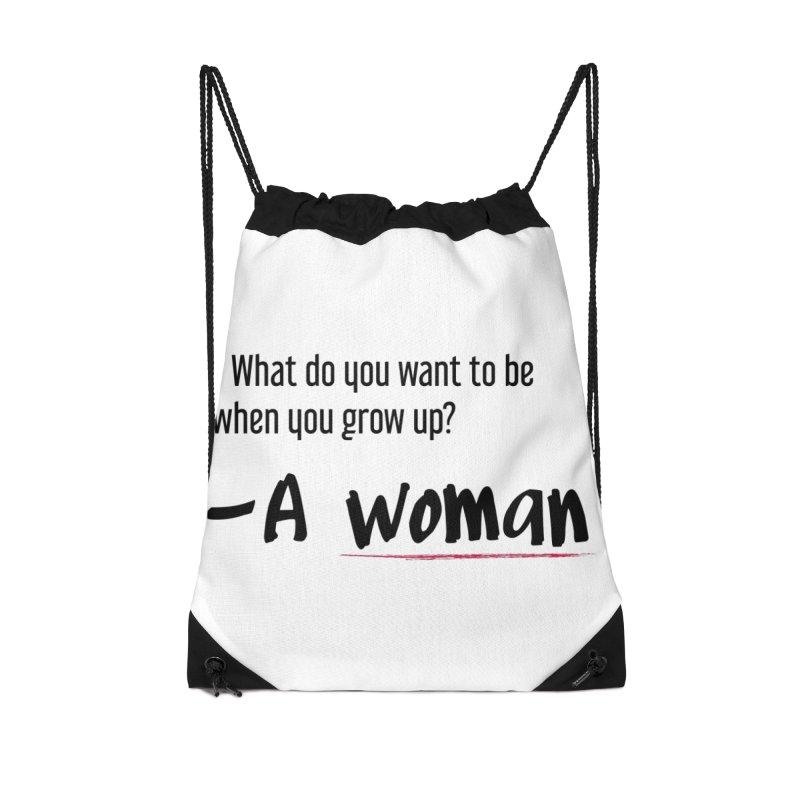Best choice - Feminist Accessories Drawstring Bag Bag by Andrea Garrido V - Shop
