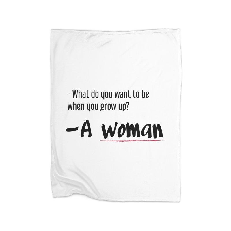 Best choice - Feminist Home Blanket by Andrea Garrido V - Shop