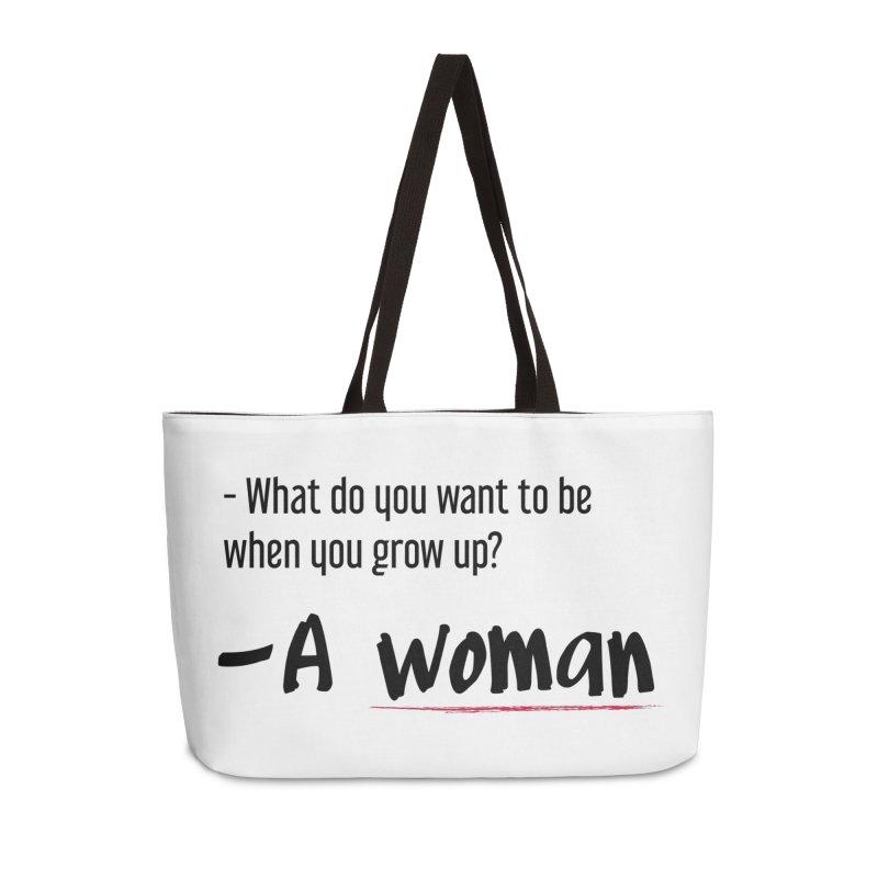 Best choice - Feminist Accessories Weekender Bag Bag by Andrea Garrido V - Shop