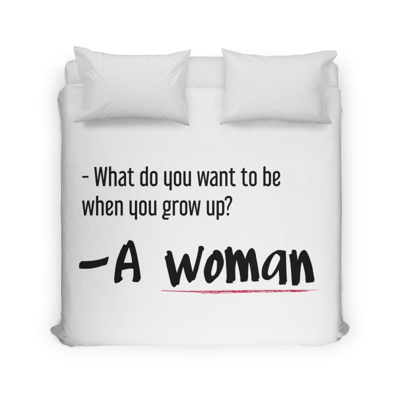 Best choice - Feminist Home Duvet by Andrea Garrido V - Shop