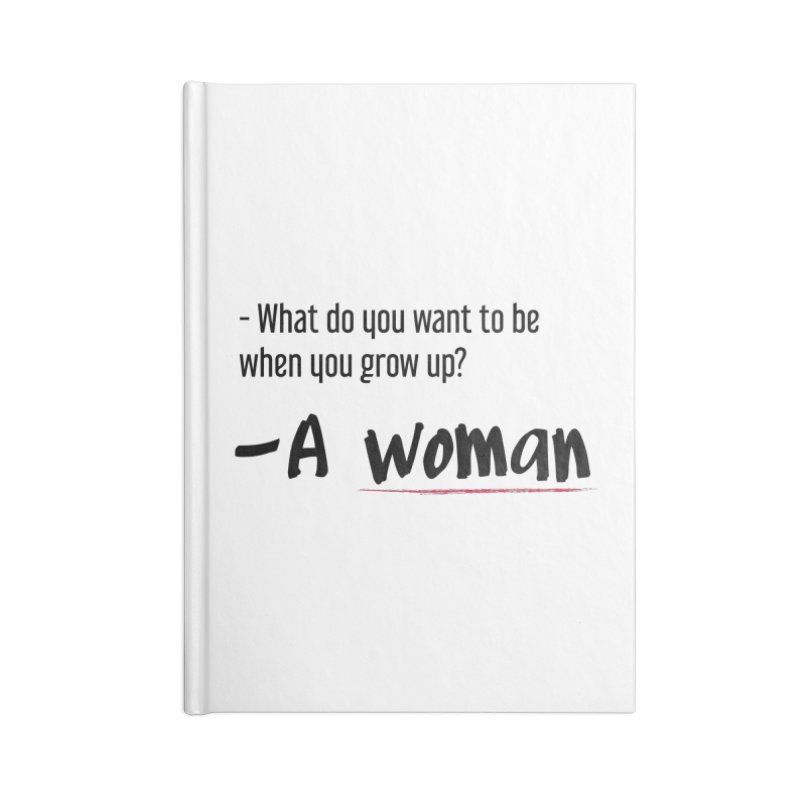 Best choice - Feminist Accessories Blank Journal Notebook by Andrea Garrido V - Shop