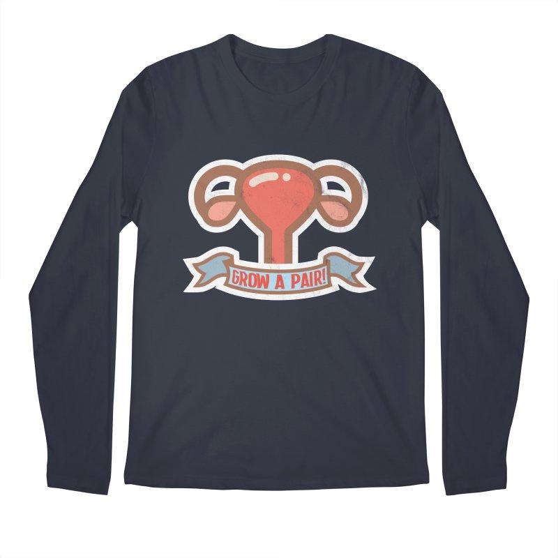 Grow a pair! Men's Regular Longsleeve T-Shirt by Andrea Garrido V - Shop