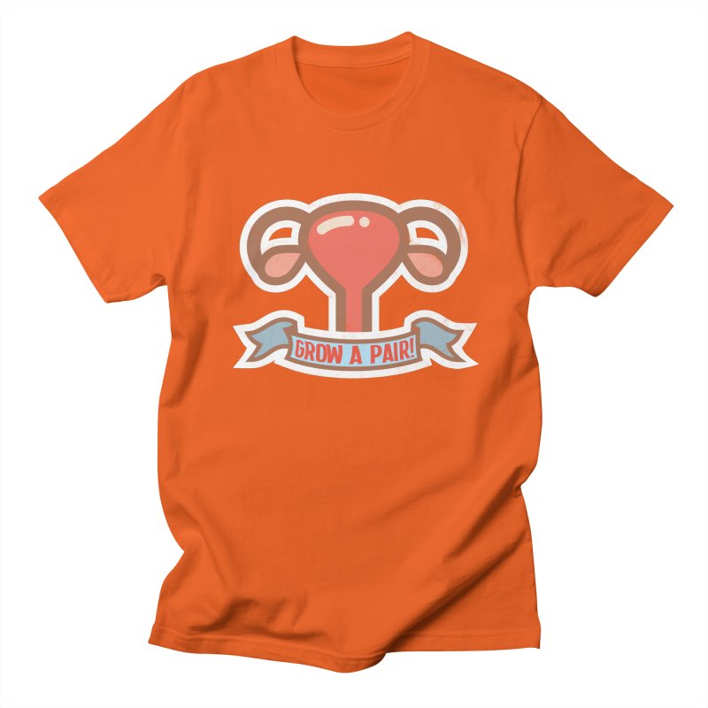 Grow a pair! Men's Regular T-Shirt by Andrea Garrido V - Shop