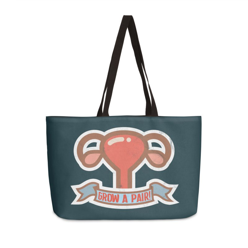 Grow a pair! Accessories Weekender Bag Bag by Andrea Garrido V - Shop