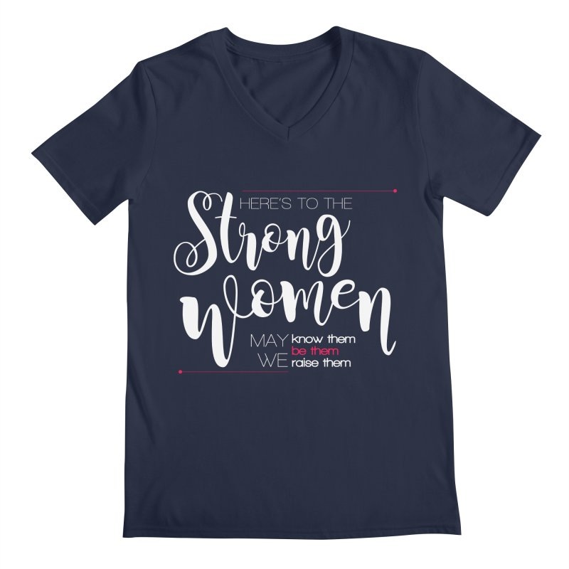 Strong Women Men's Regular V-Neck by Andrea Garrido V - Shop
