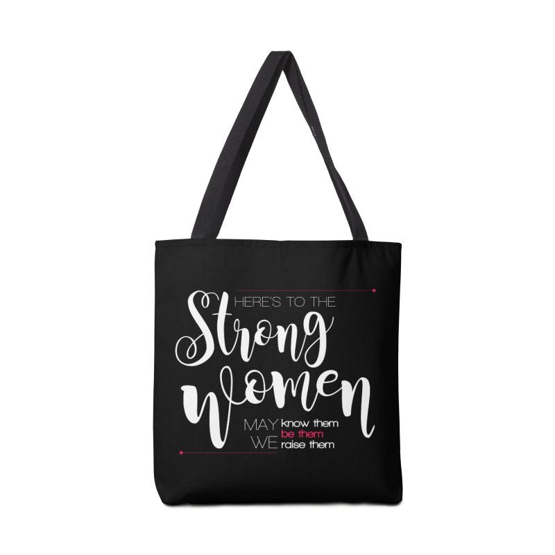 Strong Women Accessories Tote Bag Bag by Andrea Garrido V - Shop