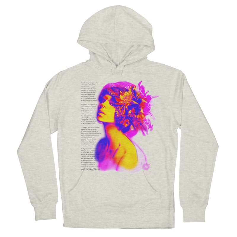 La Loca Luz Caraballo Women's French Terry Pullover Hoody by Andrea Garrido V - Shop