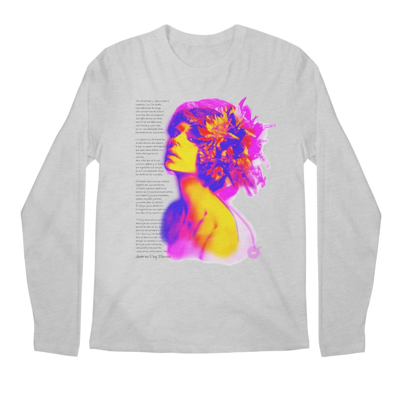 La Loca Luz Caraballo Men's Regular Longsleeve T-Shirt by Andrea Garrido V - Shop