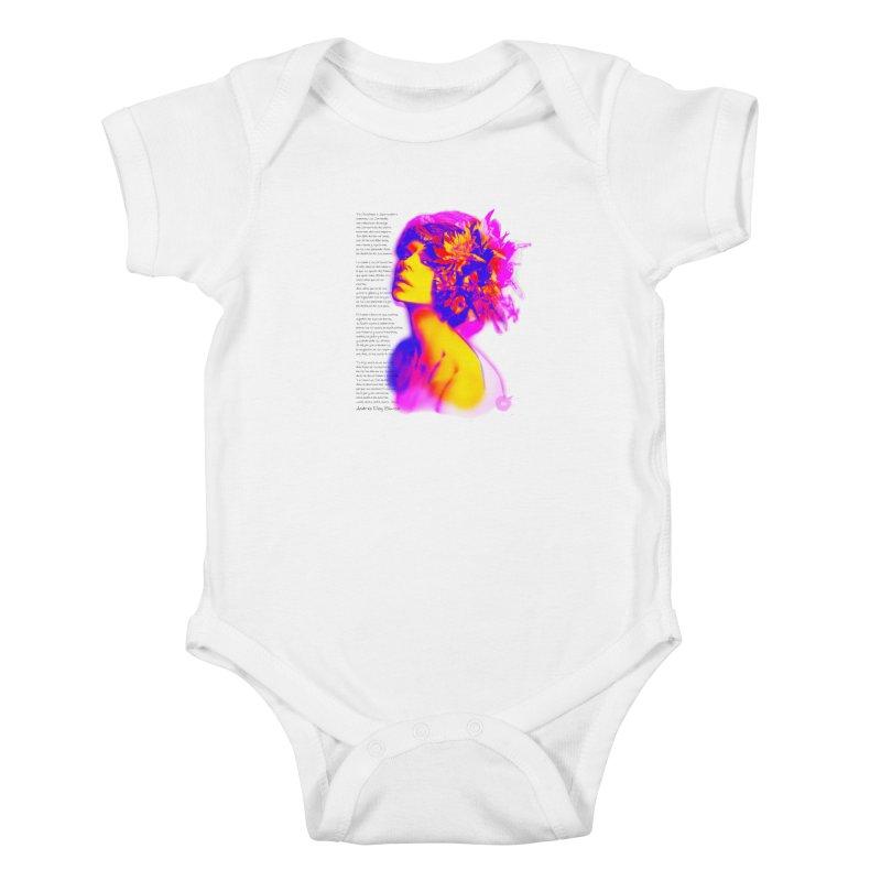 La Loca Luz Caraballo Kids Baby Bodysuit by Andrea Garrido V - Shop