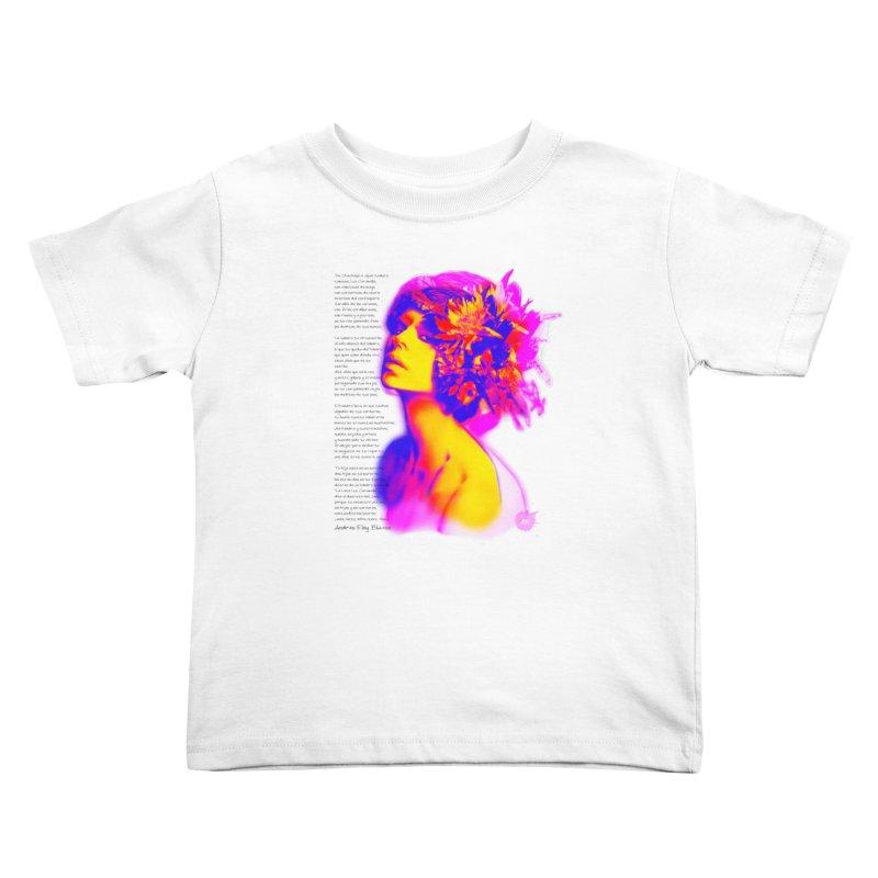 La Loca Luz Caraballo Kids Toddler T-Shirt by Andrea Garrido V - Shop