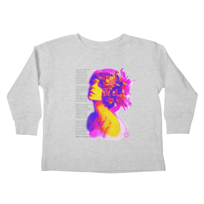 La Loca Luz Caraballo Kids Toddler Longsleeve T-Shirt by Andrea Garrido V - Shop