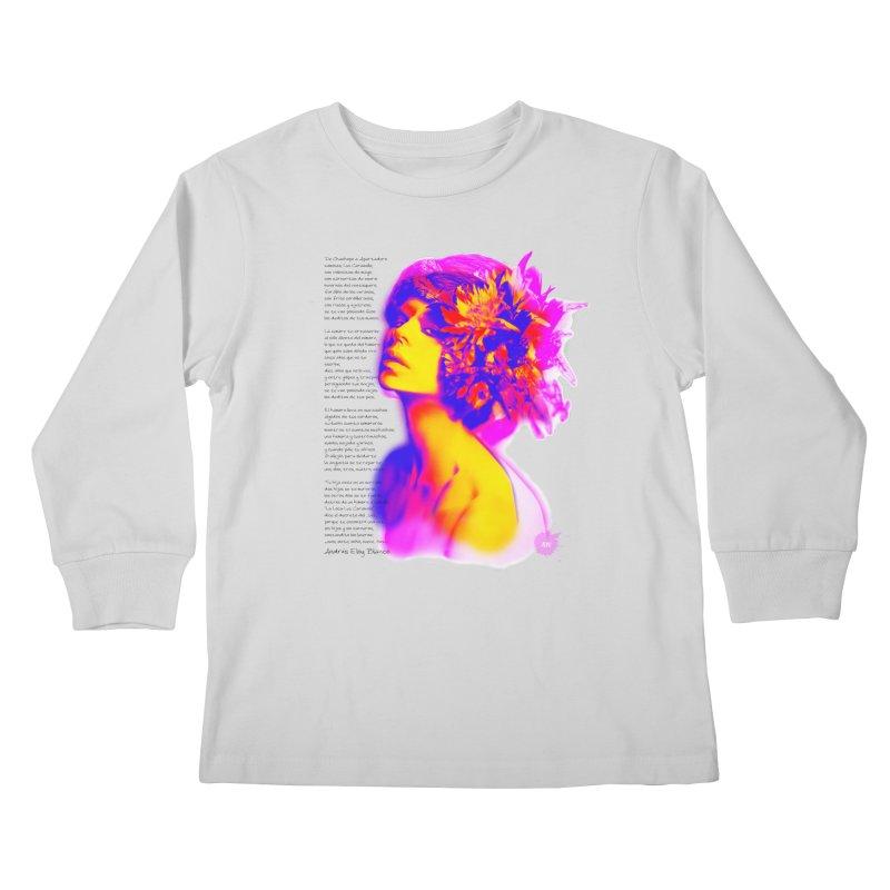 La Loca Luz Caraballo Kids Longsleeve T-Shirt by Andrea Garrido V - Shop