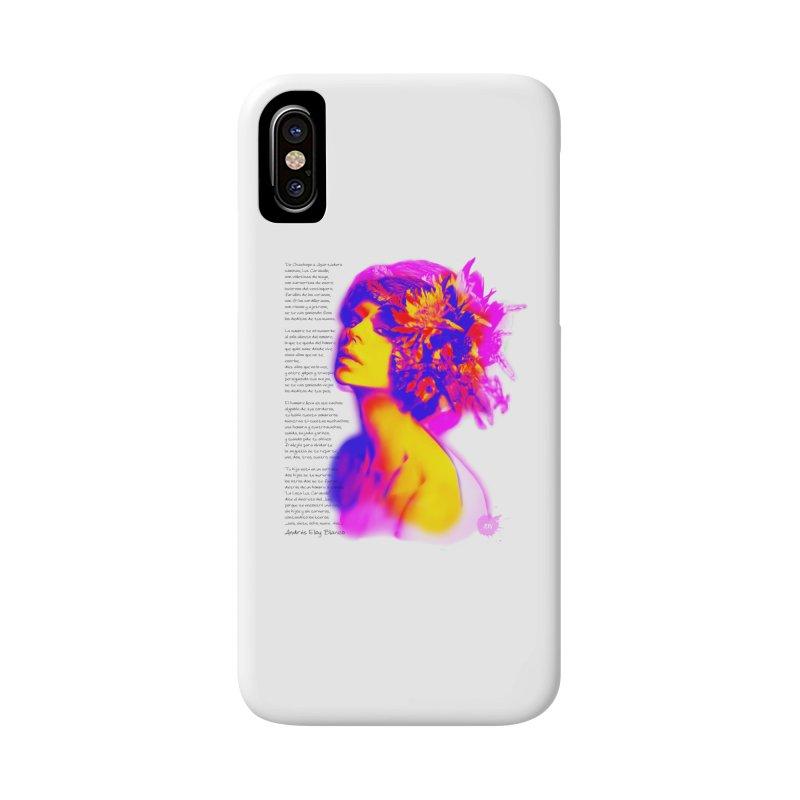 La Loca Luz Caraballo Accessories Phone Case by Andrea Garrido V - Shop