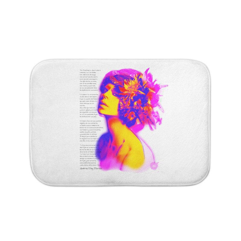 La Loca Luz Caraballo Home Bath Mat by Andrea Garrido V - Shop