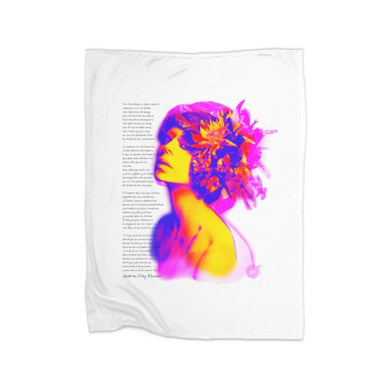 La Loca Luz Caraballo Home Fleece Blanket Blanket by Andrea Garrido V - Shop