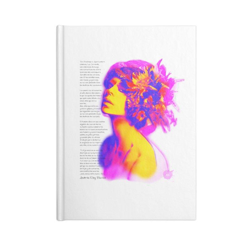La Loca Luz Caraballo Accessories Blank Journal Notebook by Andrea Garrido V - Shop