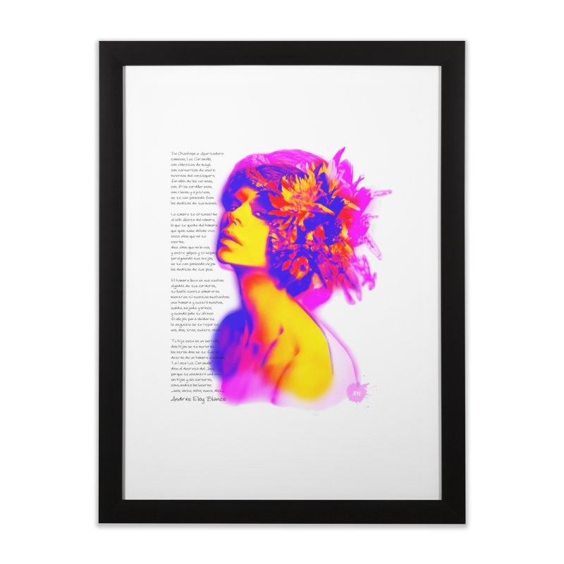La Loca Luz Caraballo Home Framed Fine Art Print by Andrea Garrido V - Shop