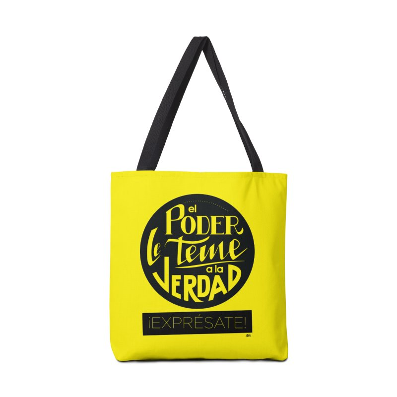 El poder le teme a la verdad Accessories Tote Bag Bag by Andrea Garrido V - Shop