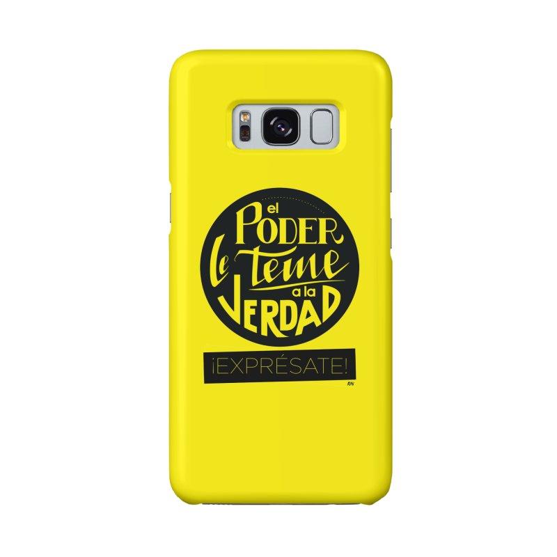 El poder le teme a la verdad Accessories Phone Case by Andrea Garrido V - Shop