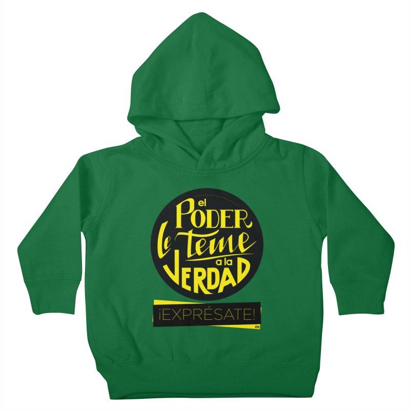 El poder le teme a la verdad Kids Toddler Pullover Hoody by Andrea Garrido V - Shop