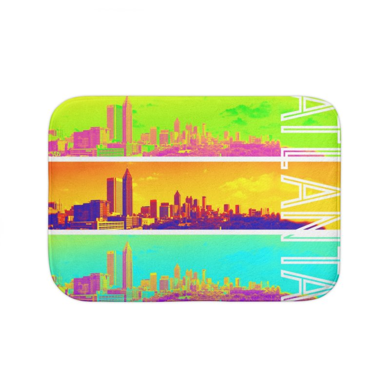 Atlanta colors Home Bath Mat by Andrea Garrido V - Shop