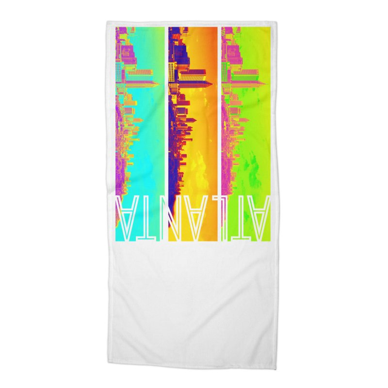 Atlanta colors Accessories Beach Towel by Andrea Garrido V - Shop